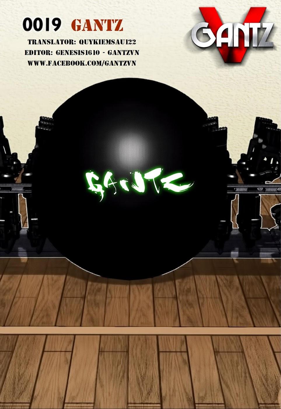 Gantz Chap 19: Gantz trang 1