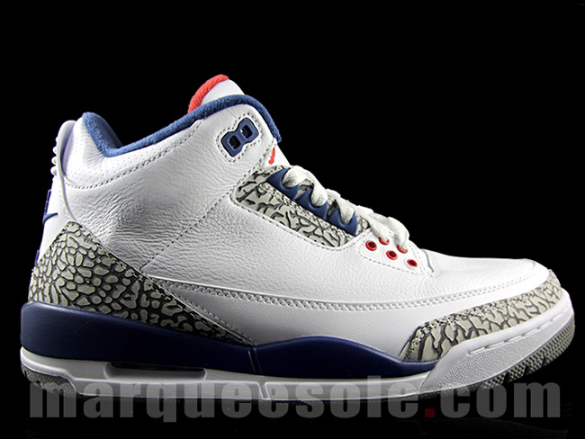 Air Jordan 3 OG 'True Blue' Releasing in Full Family Sizes