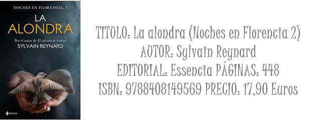 Reseña: La alondra (Noches en Florencia 2)