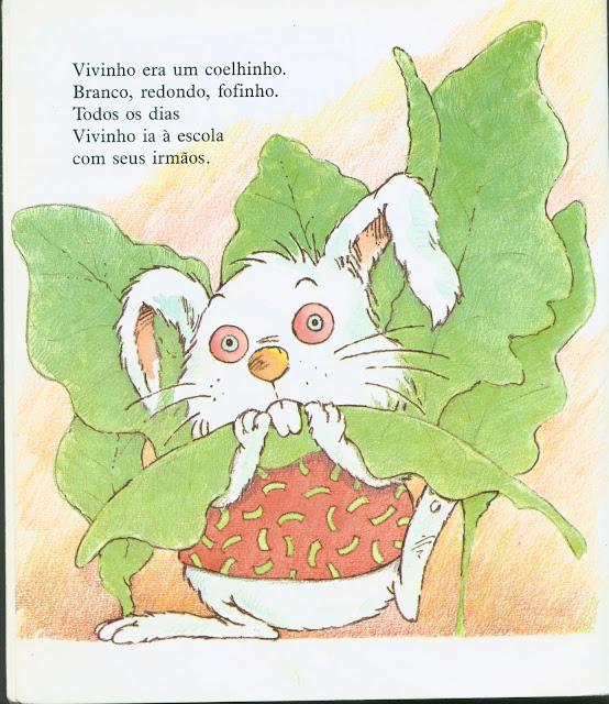 O coelhinho que não era de Páscoa