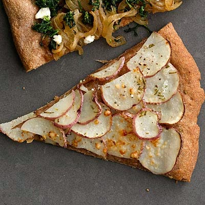 Red Potato and Rosemary Pizza Recipe