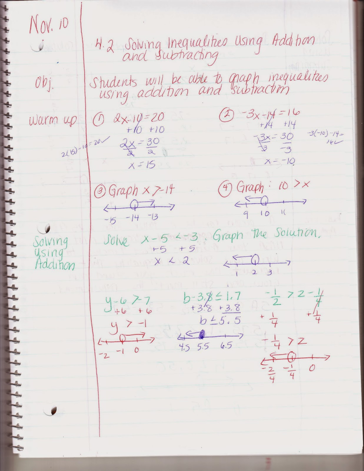 Ms Jean S Classroom Blog 4 2 Solving Inequalities Using