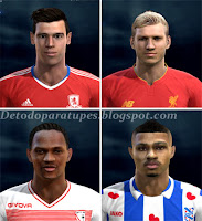 PES 2013 Mix Facepack Europe Vol7