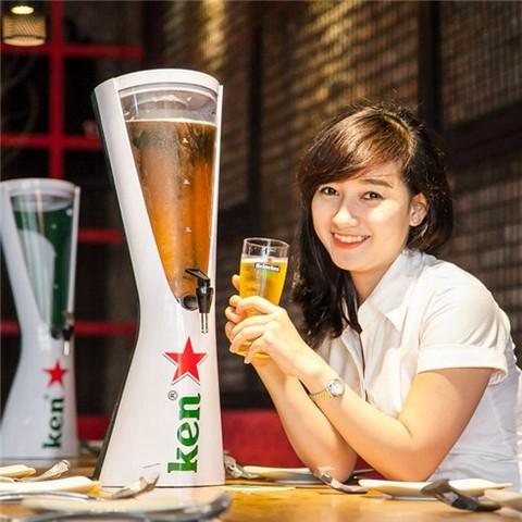 Bán tháp bia Heineken 3 lít chính hãng