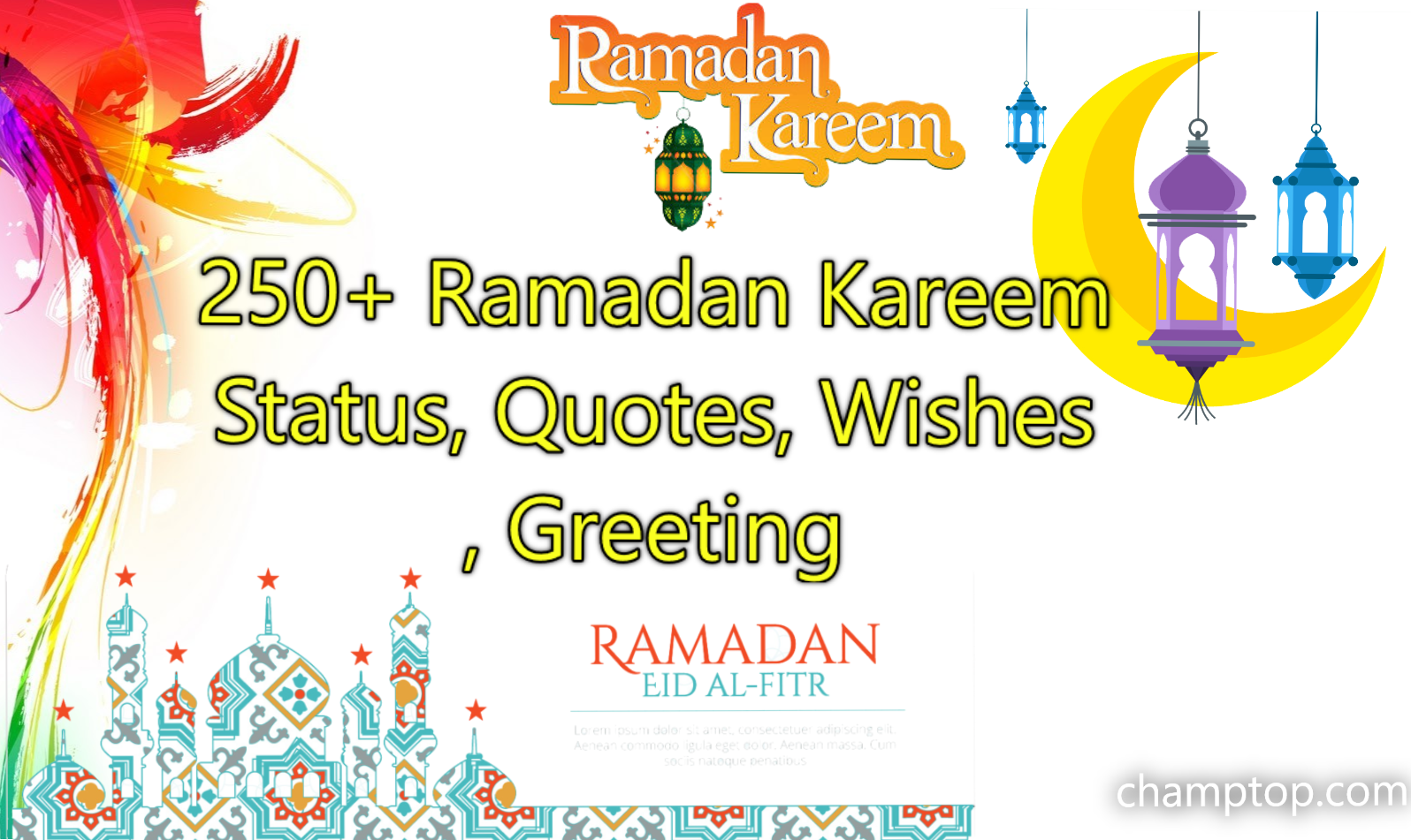 250+ Best Ramadan Quotes, Ramadan Mubarak Wishes & Greetings