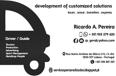 TOURS - MINI TOURS - TRANSFERS - LISBOA - SINTRA - FÁTIMA - COIMBRA - PORTO - ALENTEJO - ALGARVE - PORTUGAL - customized service