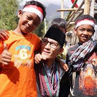 Kunjungi Korban Gempa Lombok, Sandiaga Tersentuh Melihat Para Pengungsi