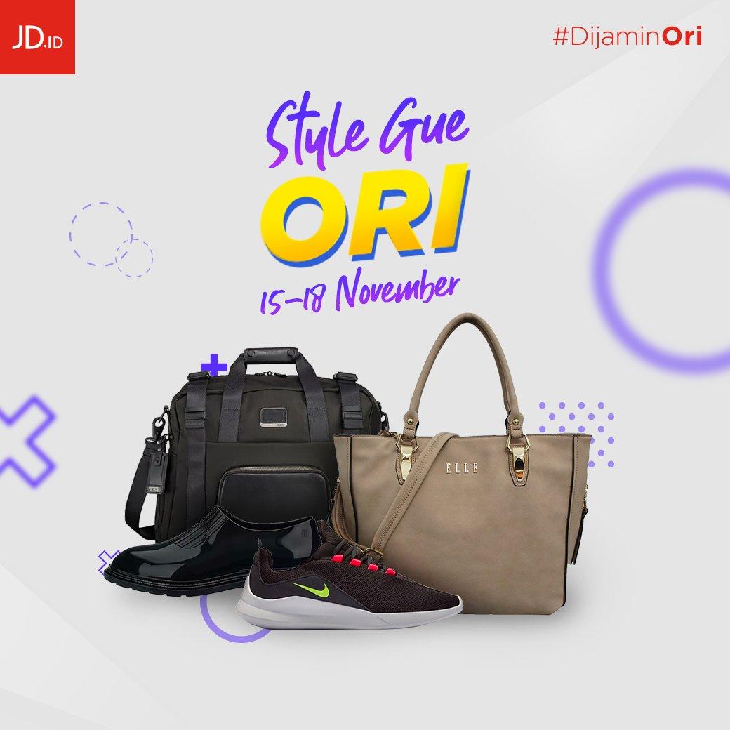 JDID - Promo Style Gue ORI Periode 15 - 18 Nov 2018