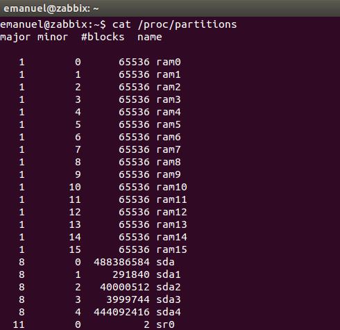 Como ver as partições do GNU/Linux via terminal!