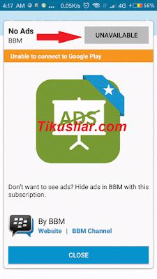 bbm berbayar tanpa iklan