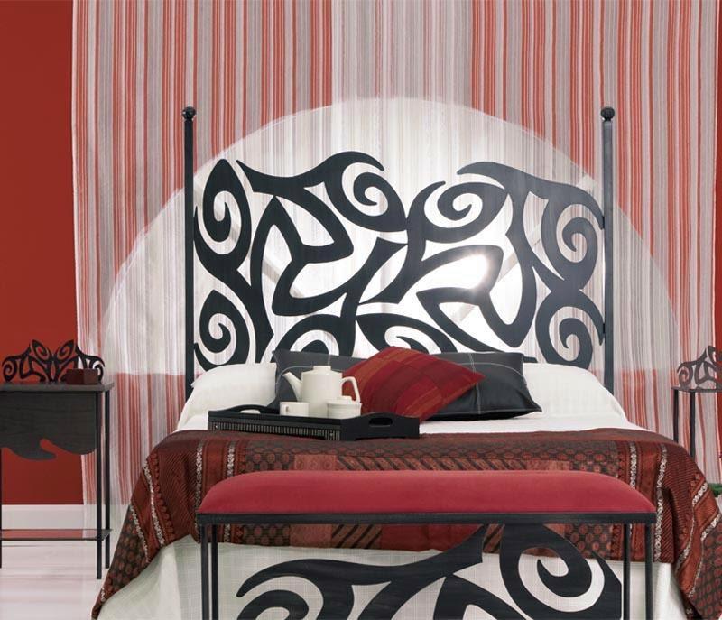 Dormitorios en forja cabeceras de hierro camas de metal - Cabeceros de forja infantiles ...
