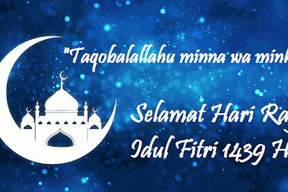 50 Contoh Ucapan Selamat Hari Raya Idul Fitri 1440 H / 2019 M Terbaru