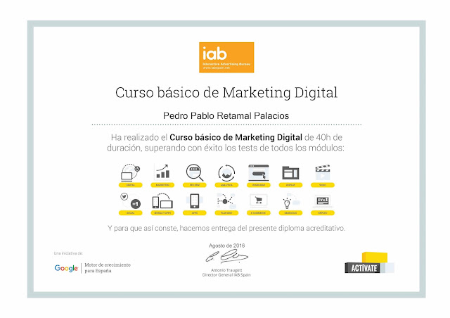 Diploma curso marketing digital