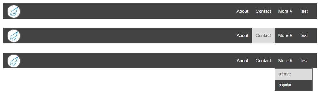 Cara Membuat Navigasi bar pada Website dengan HTML CSS ...