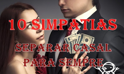 interesse financeiro é motivo para separar casal