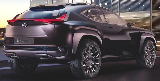 Saxton On Cars: Lexus UX Concept To Be Shown At Paris Show
