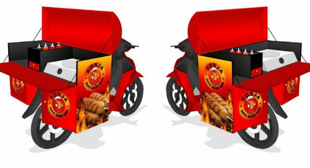 model gerobak motor modern terbaru