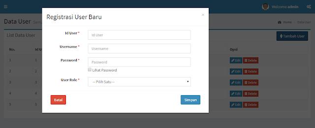 Membuat CRUD pada Modal dengan Bootstrap dan PHP