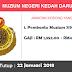 Job in Muzium Negeri Kedah Darul Aman (22 Januari 2018)