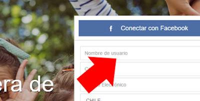 Iniciar sesion en Waplog con Facebook