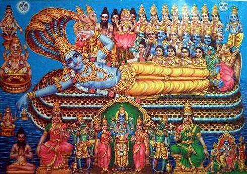 Vishnu Ananthashayanam Picture for Swargavathil Ekadasi Festival