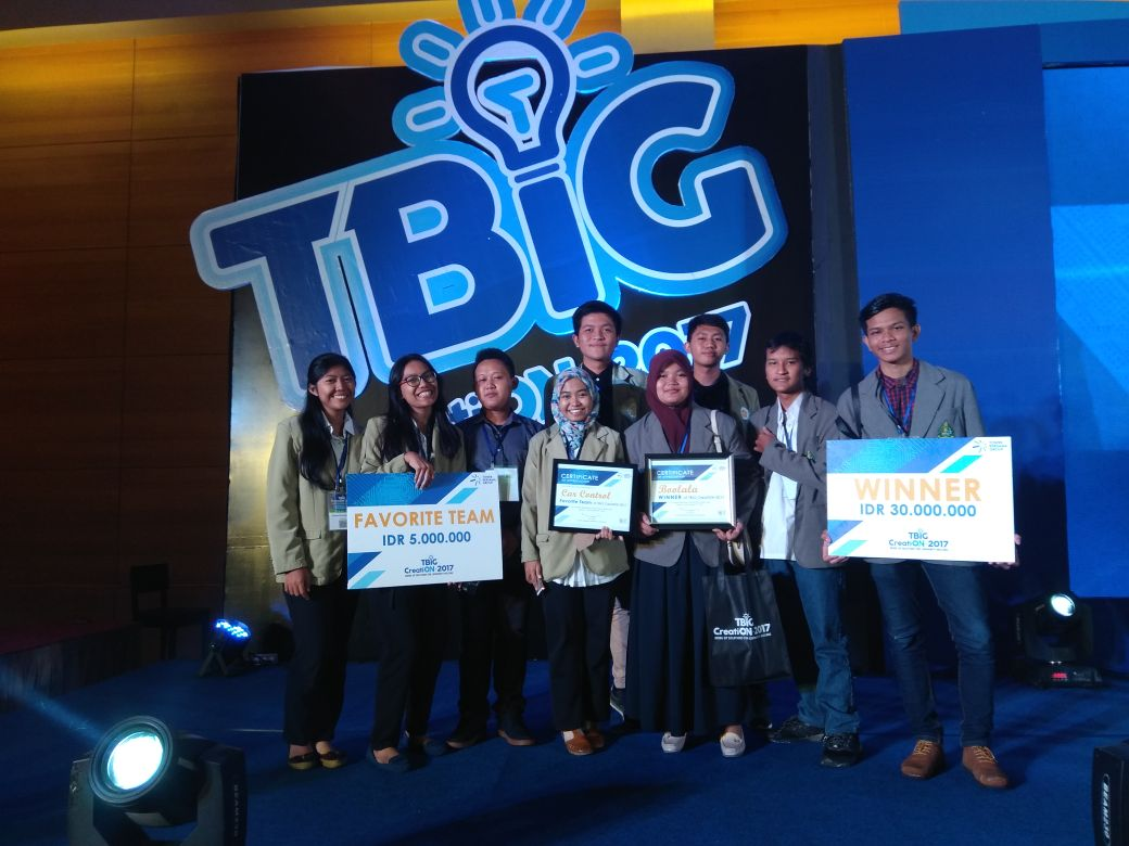 Juara 1 TBIG Creation 2017 - UKDW