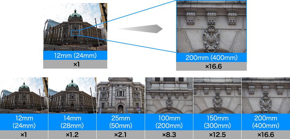 Примеры фотографий для оценки охвата диапазона фокусных расстояний объективом Olympus M.Zuiko Digital ED 12-200mm f/3.5-6.3