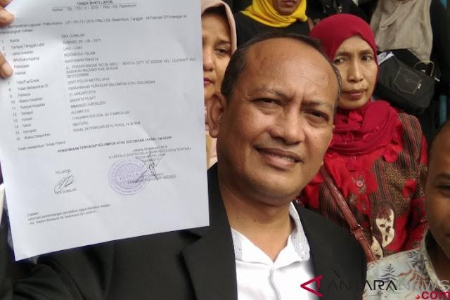 Laporkan Immanuel Ebenezer, Eka Gumilar Tagih Janji Jokowi dalam Penegakan Hukum