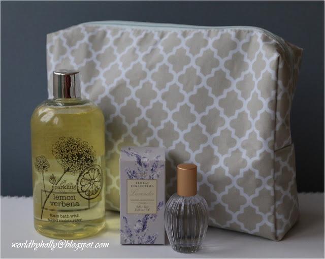 Perfumy z lawendy. Kosmetyki lawendowe. Kosmetki Marks&Spencer. Marokańska koniczyna.