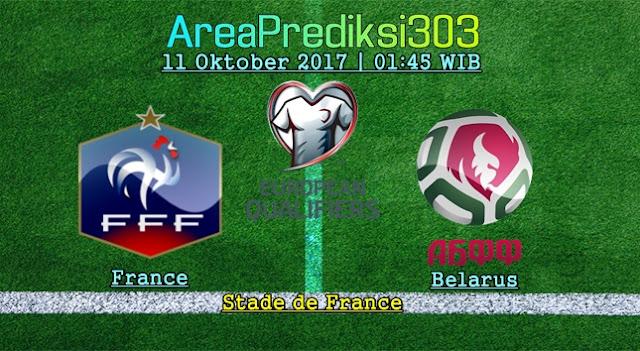 Prediksi Skor Prancis vs Belarus 11 Oktober 2017