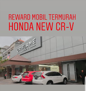 cash reward oriflame