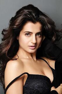 Amisha Patel Sexy Black Bra