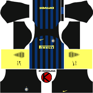 classic fit 060c6 3cb18 Inter Milan 2016/2017 - Dream League Soccer Kits and FTS15 ...