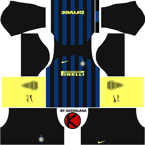 Inter Milan 2016/2017 - Dream League Soccer Kits and FTS15