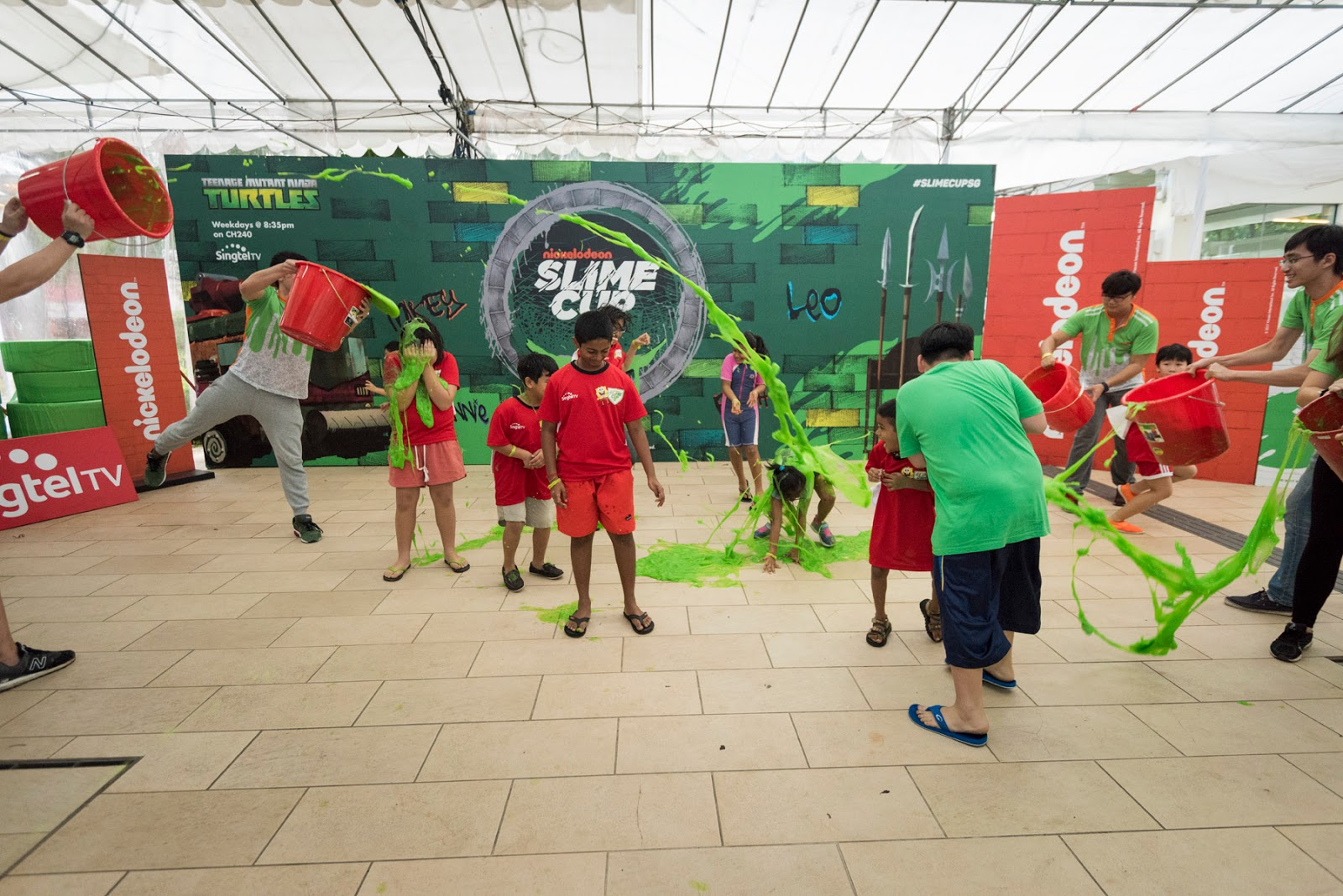 More images from the nickelodeon slime cup event in singapore can be downloaded at the end of this news release