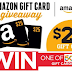 $25 Amazon Gift Card Instant Win Giveaway From Coca-Cola - 500 Winners. Daily Entry, Ends 8/17/18
