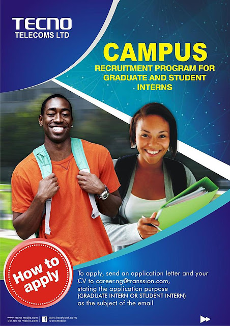 TECNO Telecoms Partners University of Lagos on Campaign Against Drug Abus