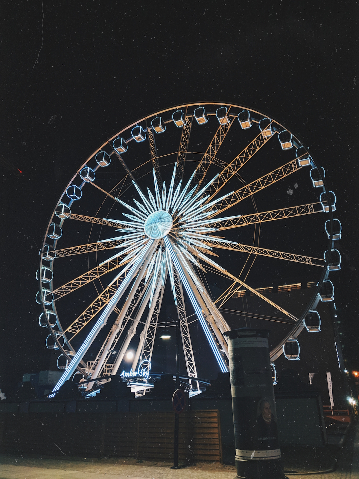 The Amber Sky Panoramic Wheel in Gdańsk