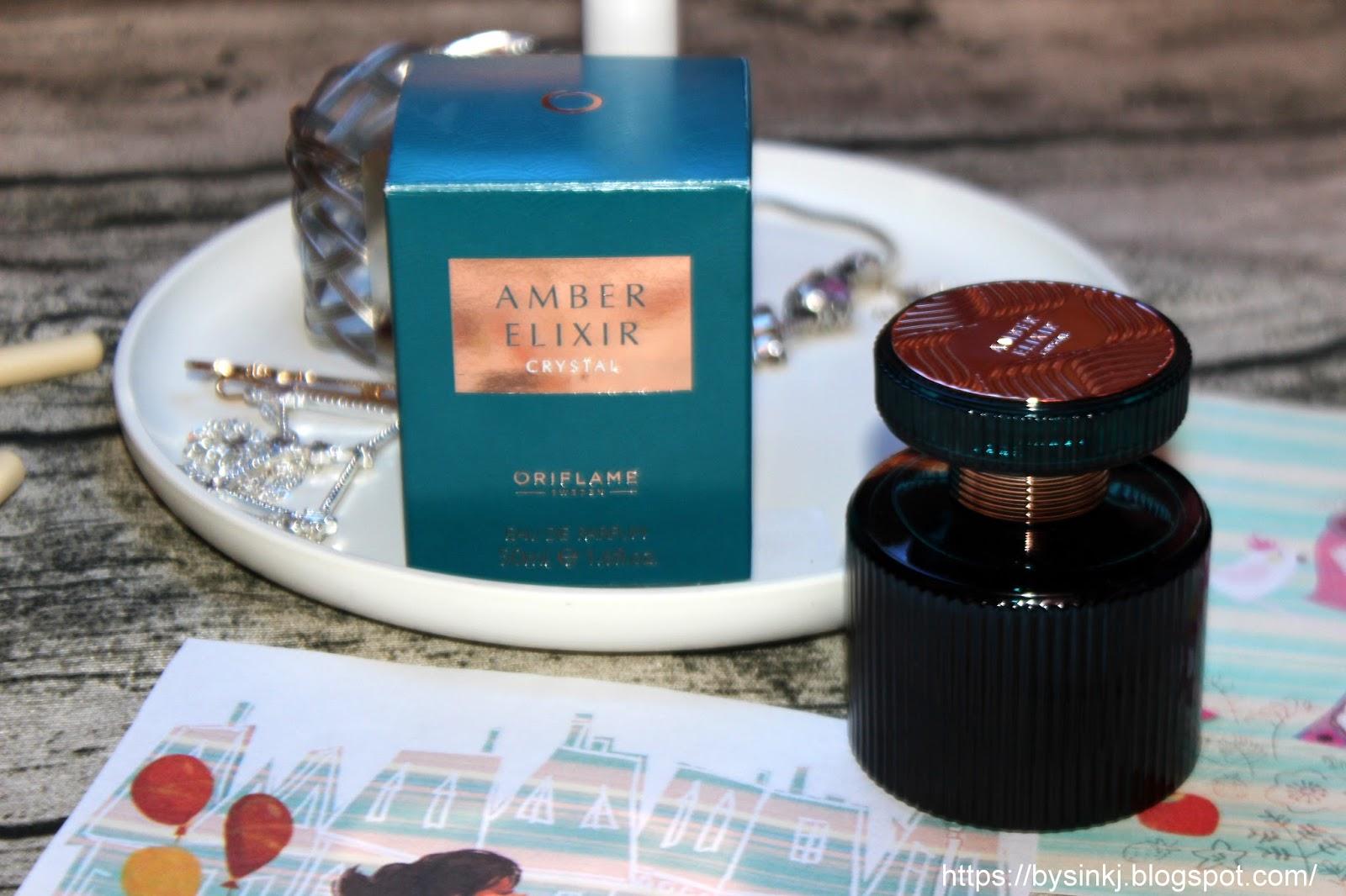 Oriflame Amber Elixir Crystal отзыв