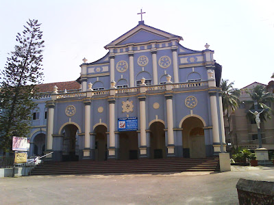 St. Aloysius Chapel on Light House Hill at Mangaluru