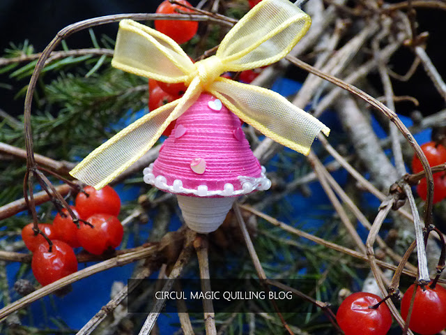 Circul Magic Quilling: Globulet Ciupercuta din Hartie cu Fundita