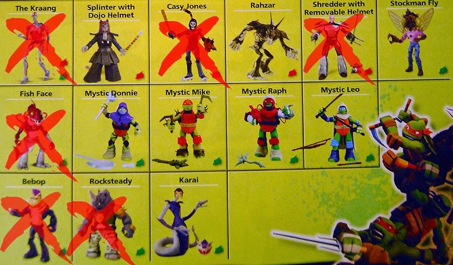 Teenage Mutant Ninja Turtles Ys