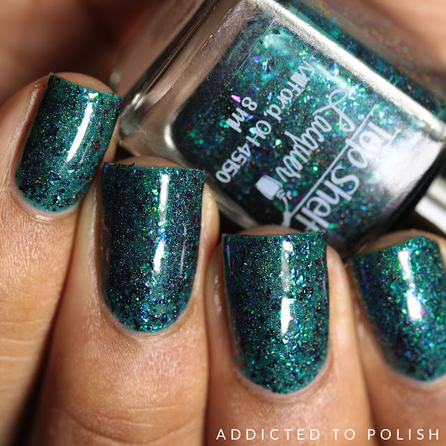 Top Shelf Lacquer Blue Coconut Cocktail