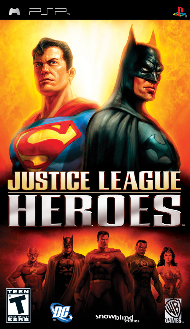 Justice league heroes (usa) iso < psp isos | emuparadise.