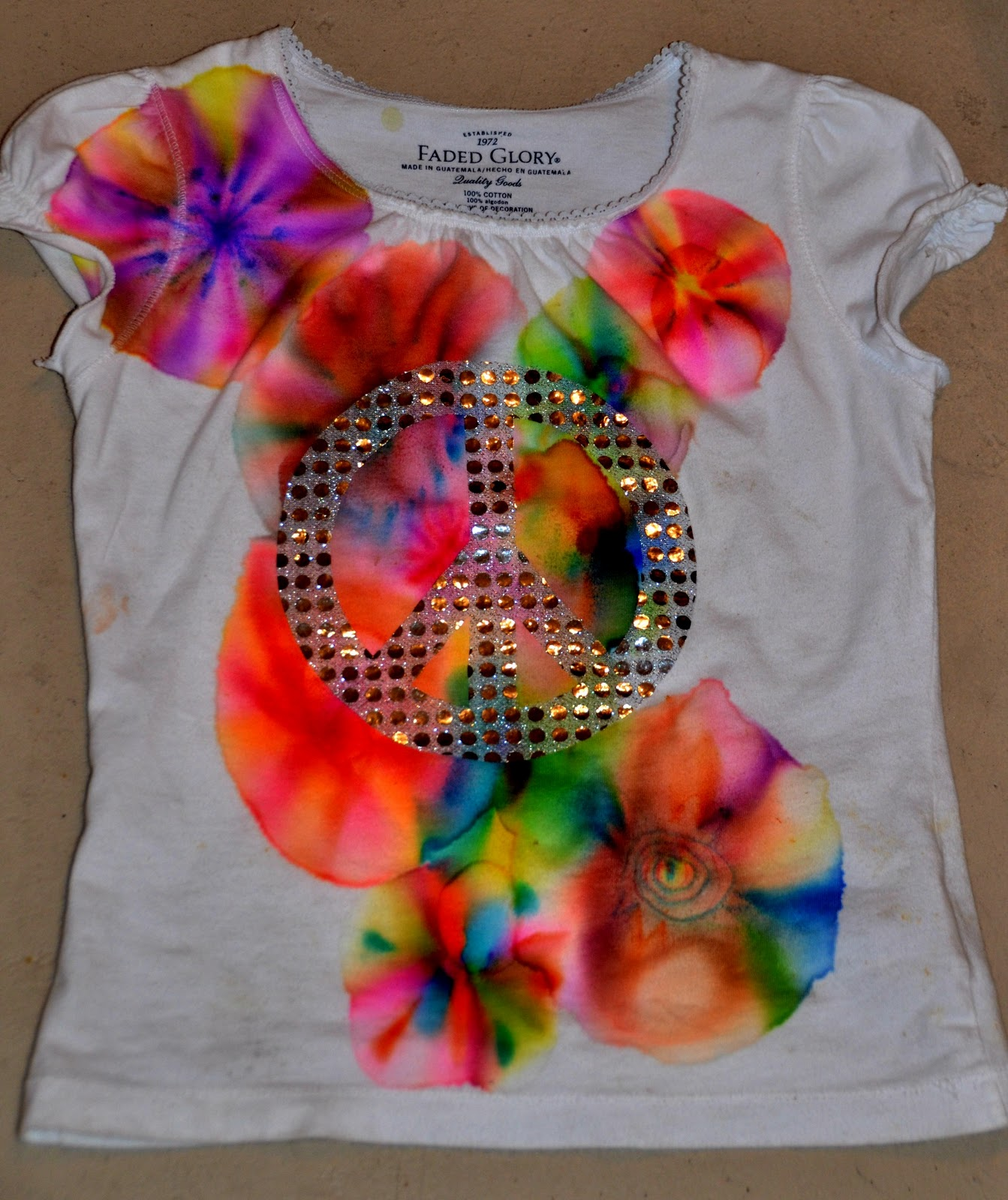 056640228b5c How To Make Tie Dye Shirts With Acrylic Paint - BCD Tofu House