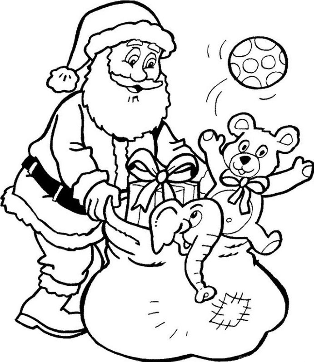 Christmas Santa Claus Drawings