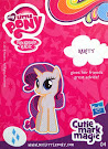 My Little Pony Wave 12A Rarity Blind Bag Card