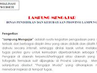 Lowongan Kerja Lampung Mengajar Dinas Pendidikan dan Kebudayaan Provinsi Lampung Tahun 2017