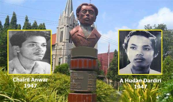 Sejarah Patung Chairil Anwar Di Kota Malang