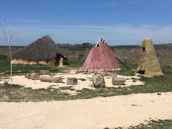 viviendas prehistóricas. Atapuerca
